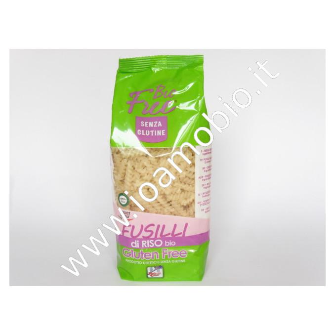 Bio Free® - Fusilli di Riso senza Glutine 500g - Pasta Biologica