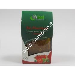 Pane croccante con pomodoro e basilico raw - LF 100g