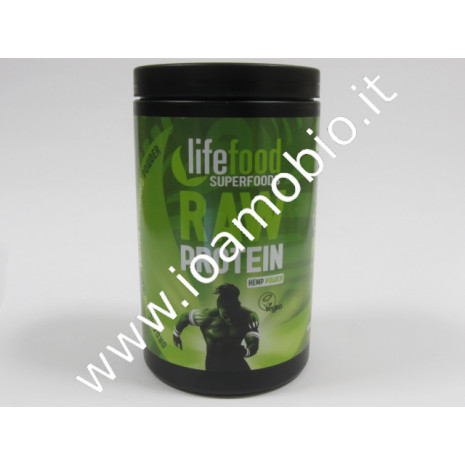Lifefood proteine canapa polvere 450g Superfood Bio