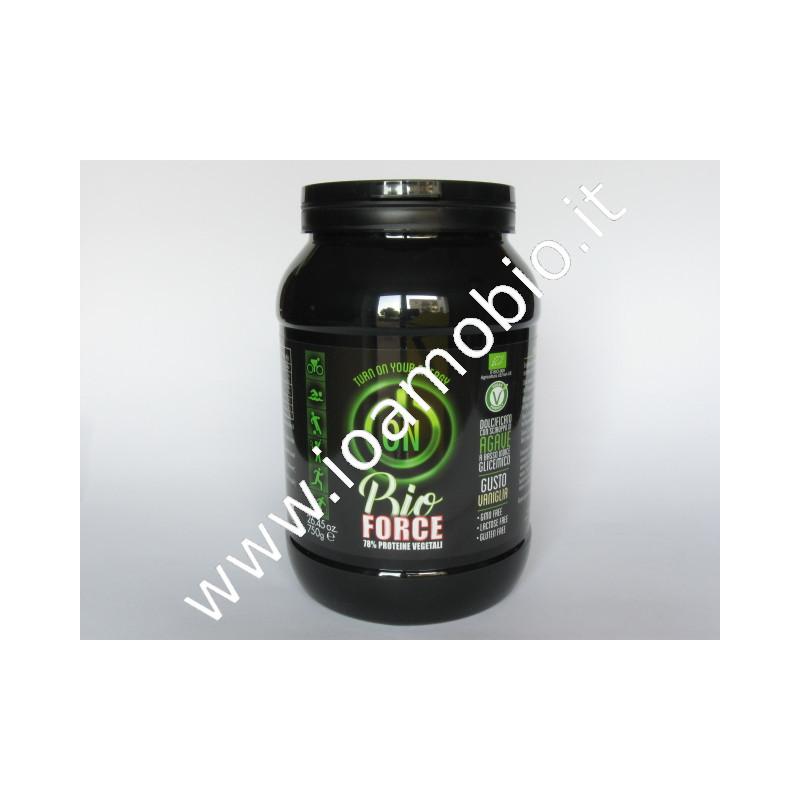 Bioforce prot. veget. 70% vaniglia 750g