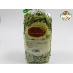 Foglie d' Ulivo Verdi di Grano Duro con Spinaci 500g - Pasta Biologica Cardone