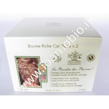 Balsamo n.2 Addolcente,capelli grassi - Piante