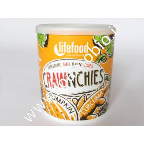 Chips croccanti con zucca e curcuma 20g