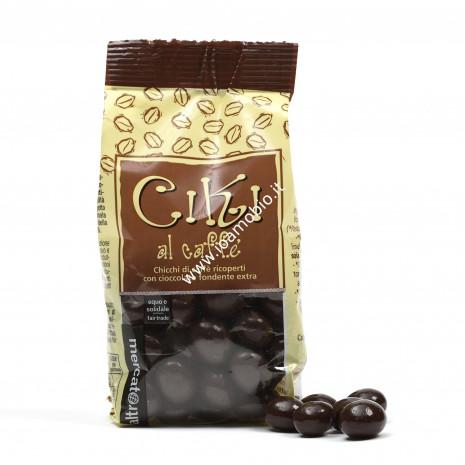 Ciki - di caffe' ricoperti al cioccolato - 100 g