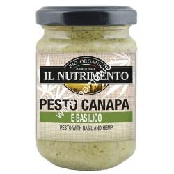 Pesto canapa e basilico 130g