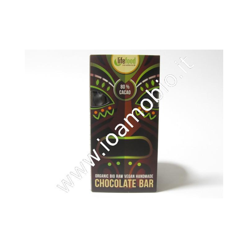Cioccolato Cacao 80% bio raw 70g