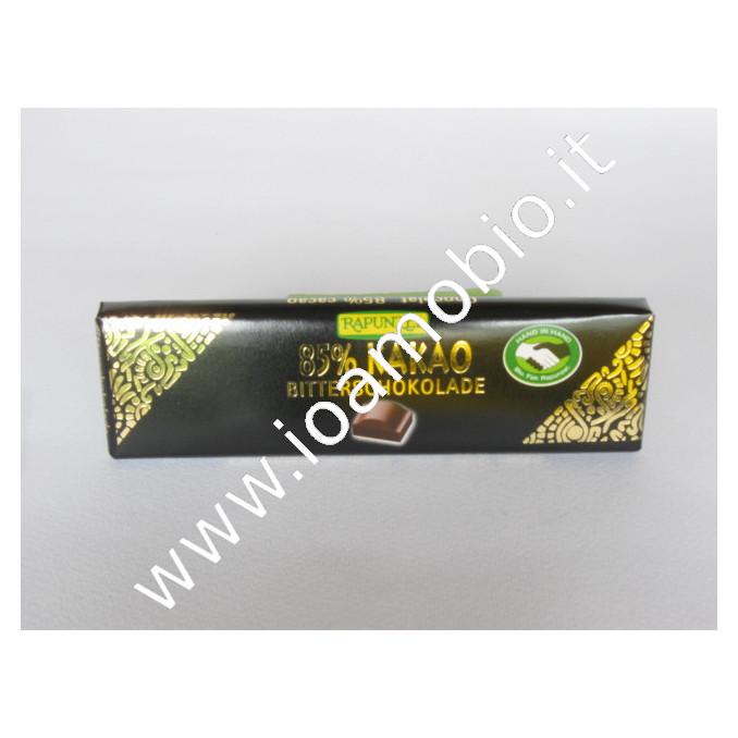 Cioccolato extra fondente 85% 20g