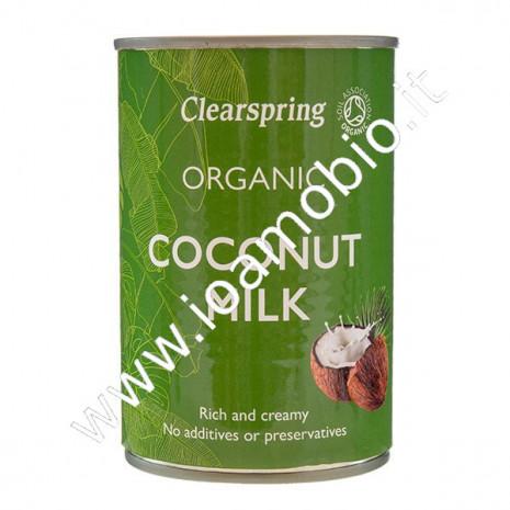 Latte di Cocco Biologico 400ml - Clearspring