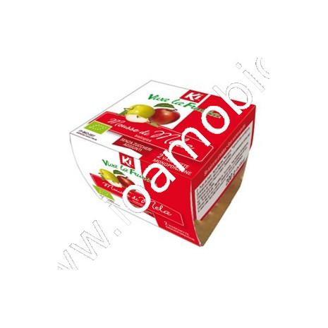 Mousse di mela 2x100g - Viva la Frutta