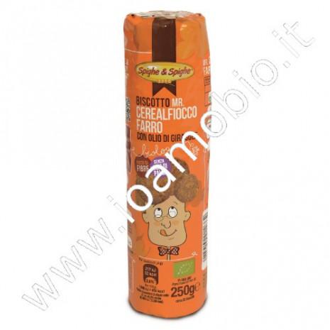 Cerealfiocco di farro - Mr Cerealfiocco 250g Biscotto di farro biologico
