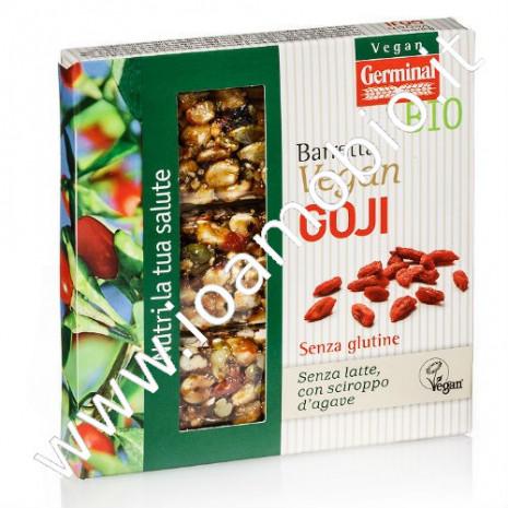 Barretta goji 3x30g - Snack proteico frutta secca
