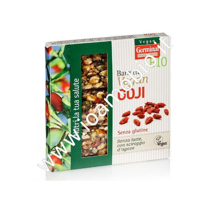 Barretta Goji 3x30g - Snack Proteico con Frutta Secca - Biologico