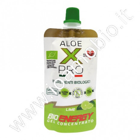 Bio Energy gel Aloe Arborescens Acerola Maca e Lime 50ml - Integratore sportivo