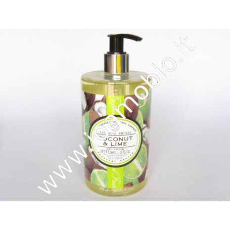 Gel detergente mani Cocco e Lime Tropical Fruits - 500ml