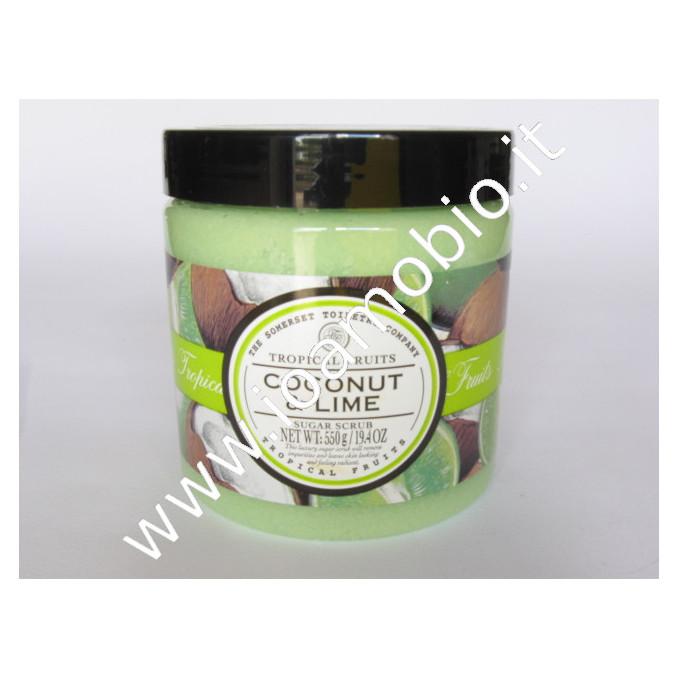 Cocco & lime - scrub granuli zucchero 550ml