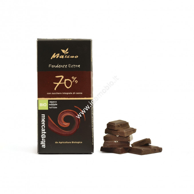 Cioccolato Mascao fondente extra 70% 100g