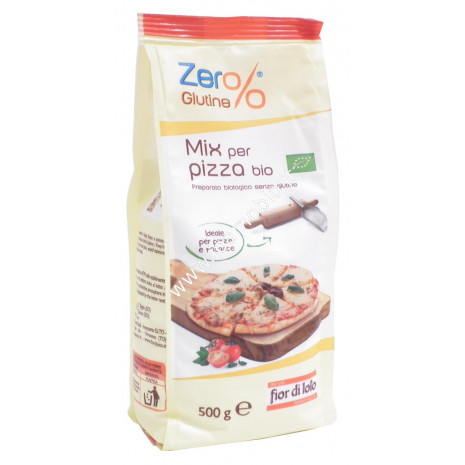 Farina Biologica Mix per pizza 500g - Senza Glutine