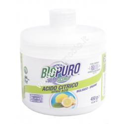 Acido Citrico Anidro 450g - Anticalcare, Brillantante - Biopuro