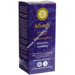 Khadi bio colore capelli blue-black indigo 100g