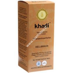 Khadi bio colore capelli marrone chiaro 100g