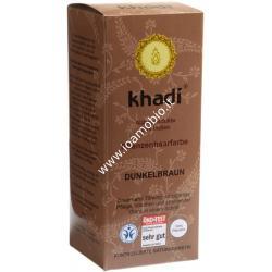Khadi bio colore capelli marrone scuro 100g