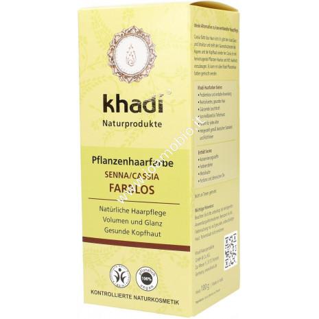 Khadi bio colore capelli senna/cassia neutro 100g