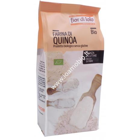 Farina di Quinoa bio senza glutine 375g - Il Fior di Loto