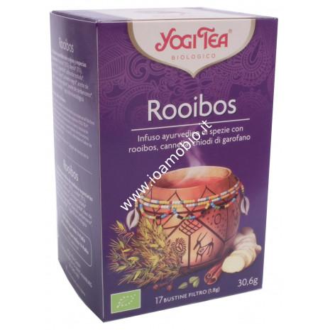 Yogi Tea Rooibos - Infuso ayurvedico con rooibos, cannella e chiodi di garofano