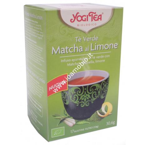 Yogi Tea - Tè Verde Matcha al Limone - Infuso Ayurvedico