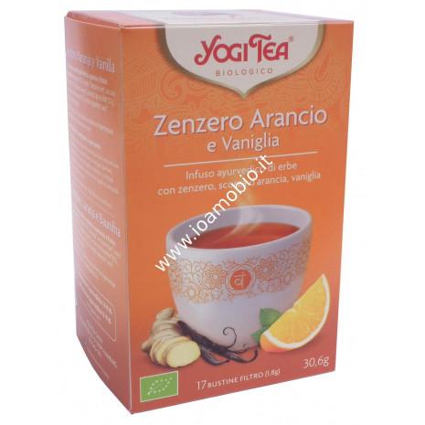 Yogi Tea - Infuso ayurvedico di erbe con zenzero arancio e vaniglia