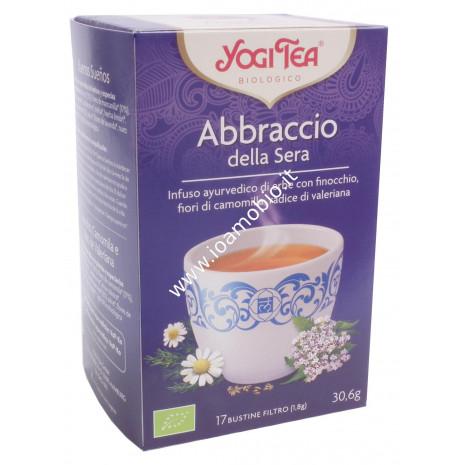 Yogi Tea - Abbraccio della Sera - Finocchio, camomilla, radice di valeriana