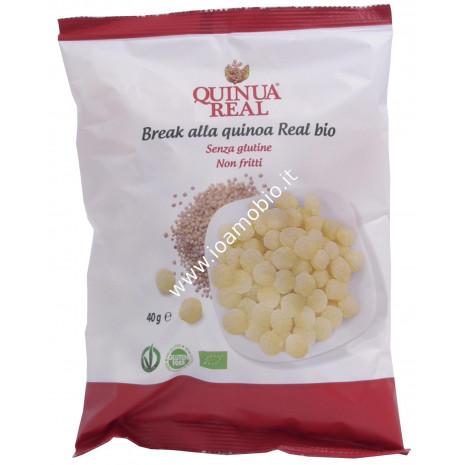 Quinoa real® - Break alla Quinoa bio 40g - Palline non fritte