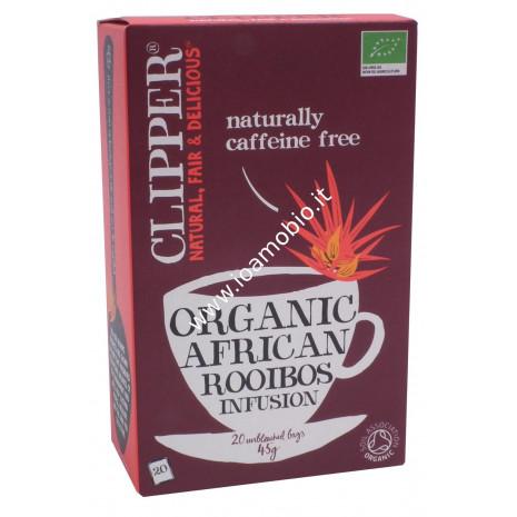 Clipper tè rooibos 20 filtri 45g