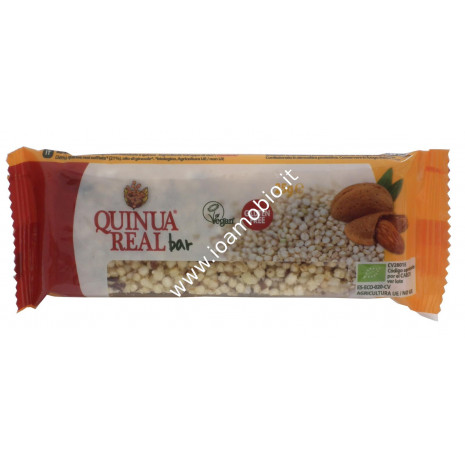 Quinoa real - Barretta di mandorle e quinoa 25g