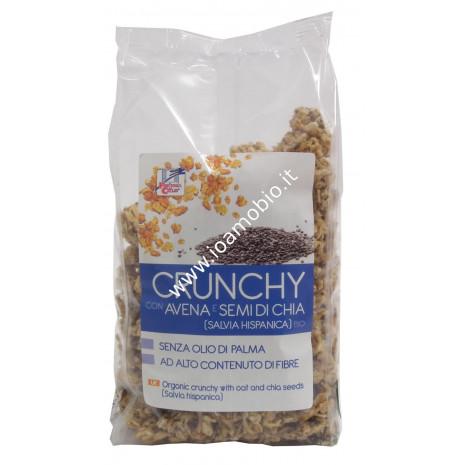 Crunchy con avena e semi di chia 375g