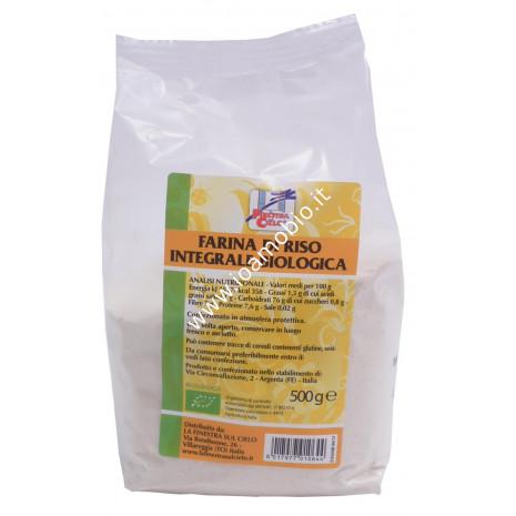 Farina integrale di riso 500g
