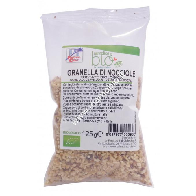 Granella di nocciole Biologiche 125g - Ingredienti per dolci