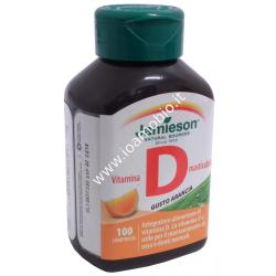 Vitamina D masticabile 100 cpr