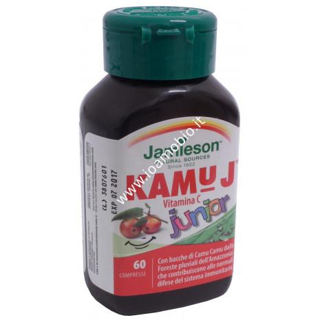 Jamieson Kamu J junior - Vitamina C con Camu Camu 60 compresse masticabili