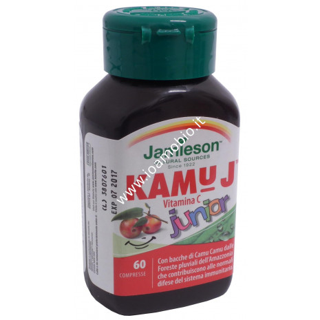 Kamu J vitamina C junior 60 cpr masticabili