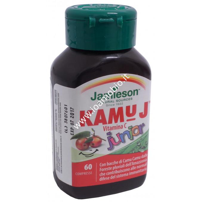 Jamieson Kamu J junior - Vitamina C con Camu Camu - Sistema Immunitario Bimbi