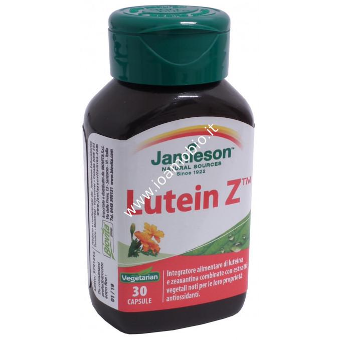 Jamieson Lutein Z 30 cps - Integratore Antiossidante Luteina e Zeaxantina