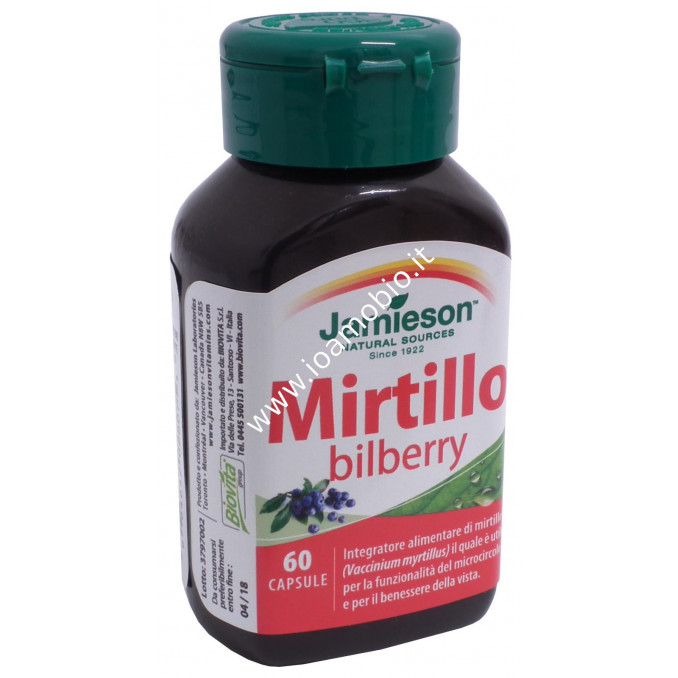 Mirtillo bilberry 60 cps