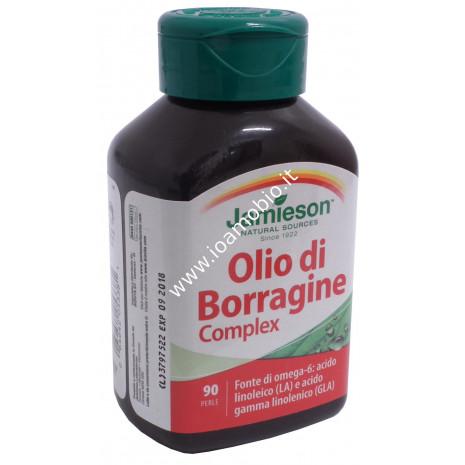 Jamieson Olio di Borragine complex 90 prl - Omega6 Acido Linoleico, GLA