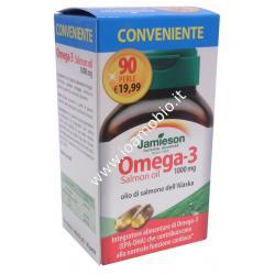 Jamieson Omega 3 salmon oil 1000mg 90 prl - Integratore olio di salmone