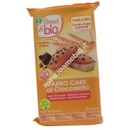 Farro cake al cioccolato 4x45g