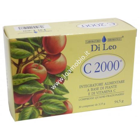 Vitamina C 2000 Di Leo 30 cpr - Integratore Vitamina C