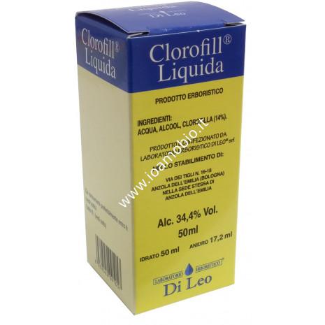 Clorofilla Liquida Di leo 50ml - Stimolante Metabolico, Ossigenazione Cellulare