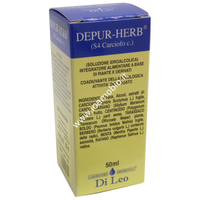 Depur Herb - Carciofo 50ml - Coadiuvante nella fisiologica Attività del Fegato
