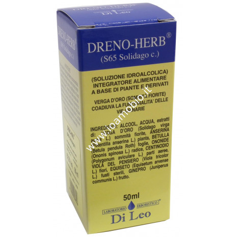 Dreno-Herb® (S 65 Solidago) 50ml